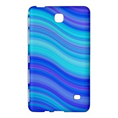 Blue Background Water Design Wave Samsung Galaxy Tab 4 (7 ) Hardshell Case