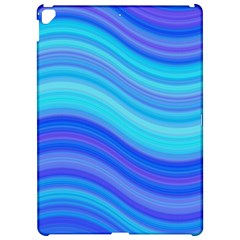 Blue Background Water Design Wave Apple Ipad Pro 12 9   Hardshell Case