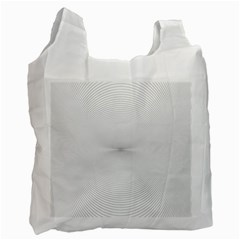 Background Line Motion Curve Recycle Bag (one Side)