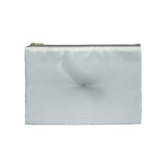 Background Line Motion Curve Cosmetic Bag (medium)