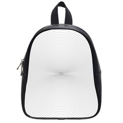 Background Line Motion Curve School Bag (small)