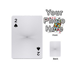 Background Line Motion Curve Playing Cards 54 (mini)