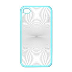 Background Line Motion Curve Apple Iphone 4 Case (color)