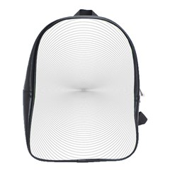 Background Line Motion Curve School Bag (xl)