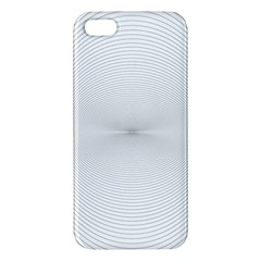Background Line Motion Curve Apple Iphone 5 Premium Hardshell Case
