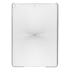 Background Line Motion Curve Ipad Air Hardshell Cases