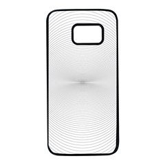Background Line Motion Curve Samsung Galaxy S7 Black Seamless Case
