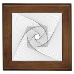 Rotation Rotated Spiral Swirl Framed Tiles
