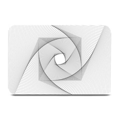 Rotation Rotated Spiral Swirl Plate Mats