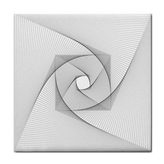 Rotation Rotated Spiral Swirl Face Towel