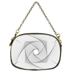 Rotation Rotated Spiral Swirl Chain Purses (two Sides)