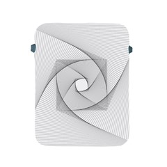 Rotation Rotated Spiral Swirl Apple Ipad 2/3/4 Protective Soft Cases