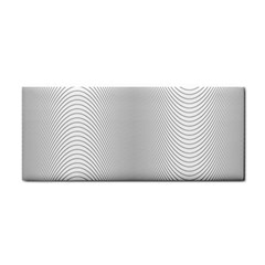 Monochrome Curve Line Pattern Wave Cosmetic Storage Cases by BangZart
