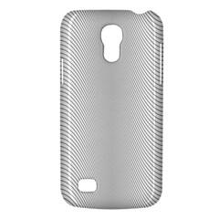 Monochrome Curve Line Pattern Wave Galaxy S4 Mini by BangZart