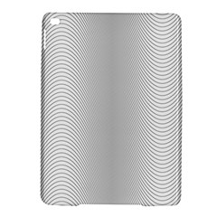 Monochrome Curve Line Pattern Wave Ipad Air 2 Hardshell Cases by BangZart