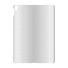 Monochrome Curve Line Pattern Wave Apple Ipad Pro 10 5   Hardshell Case