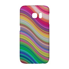 Wave Background Happy Design Galaxy S6 Edge by BangZart