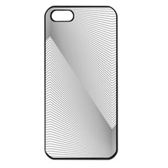 Background Pattern Stripe Apple Iphone 5 Seamless Case (black)