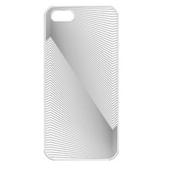 Background Pattern Stripe Apple Iphone 5 Seamless Case (white)