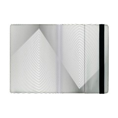 Background Pattern Stripe Apple Ipad Mini Flip Case