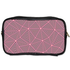 Triangle Background Abstract Toiletries Bags by BangZart