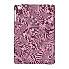 Triangle Background Abstract Apple Ipad Mini Hardshell Case (compatible With Smart Cover) by BangZart