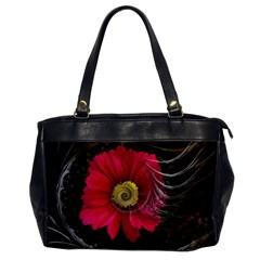 Fantasy Flower Fractal Blossom Office Handbags