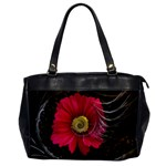 Fantasy Flower Fractal Blossom Office Handbags Front