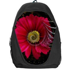 Fantasy Flower Fractal Blossom Backpack Bag