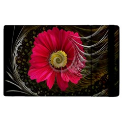 Fantasy Flower Fractal Blossom Apple Ipad 2 Flip Case by BangZart