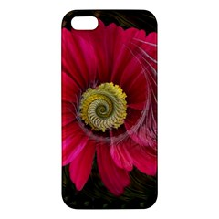 Fantasy Flower Fractal Blossom Apple Iphone 5 Premium Hardshell Case