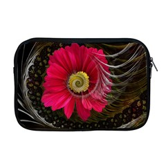 Fantasy Flower Fractal Blossom Apple Macbook Pro 17  Zipper Case