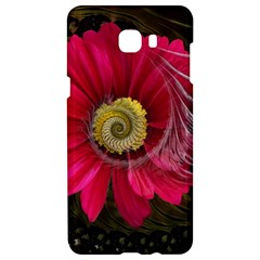Fantasy Flower Fractal Blossom Samsung C9 Pro Hardshell Case  by BangZart