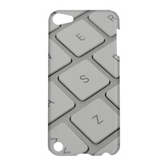 Keyboard Letters Key Print White Apple Ipod Touch 5 Hardshell Case