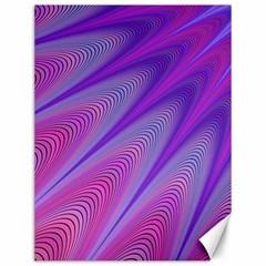 Purple Star Sun Sunshine Fractal Canvas 12  X 16