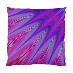 Purple Star Sun Sunshine Fractal Standard Cushion Case (one Side)