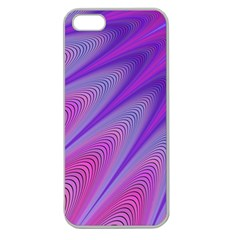 Purple Star Sun Sunshine Fractal Apple Seamless Iphone 5 Case (clear)