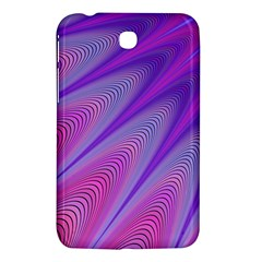Purple Star Sun Sunshine Fractal Samsung Galaxy Tab 3 (7 ) P3200 Hardshell Case