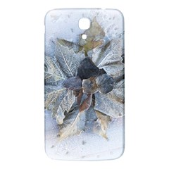 Winter Frost Ice Sheet Leaves Samsung Galaxy Mega I9200 Hardshell Back Case