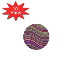 Wave Abstract Happy Background 1  Mini Buttons (10 Pack)  by BangZart