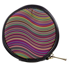 Wave Abstract Happy Background Mini Makeup Bags