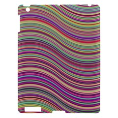 Wave Abstract Happy Background Apple Ipad 3/4 Hardshell Case