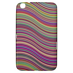 Wave Abstract Happy Background Samsung Galaxy Tab 3 (8 ) T3100 Hardshell Case