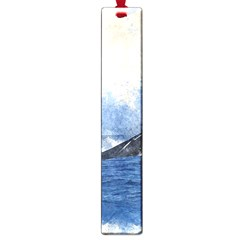 Whale Watercolor Sea Large Book Marks