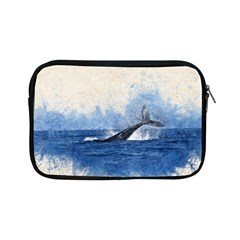Whale Watercolor Sea Apple Ipad Mini Zipper Cases