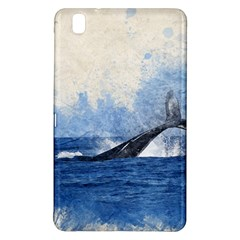Whale Watercolor Sea Samsung Galaxy Tab Pro 8 4 Hardshell Case
