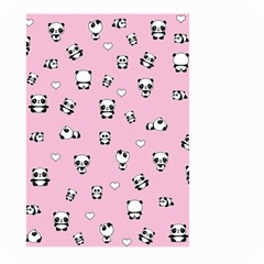 Panda Pattern Large Garden Flag (two Sides) by Valentinaart