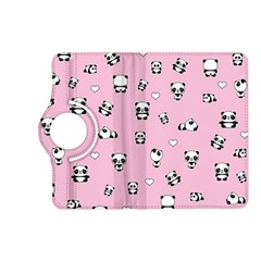 Panda Pattern Kindle Fire Hd (2013) Flip 360 Case by Valentinaart