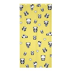 Panda Pattern Shower Curtain 36  X 72  (stall)  by Valentinaart