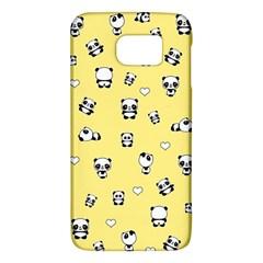 Panda Pattern Galaxy S6 by Valentinaart